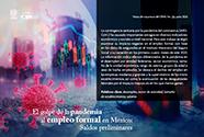 El golpe de la pandemia al empleo formal en México: saldos preliminares [501]