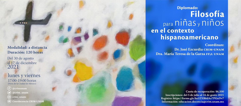 Diplomado: Filosofía para niñas y niños en el contexto hispanoamericano